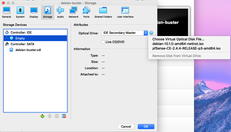 Creation VM Debian Buster sous VirtualBox - 4