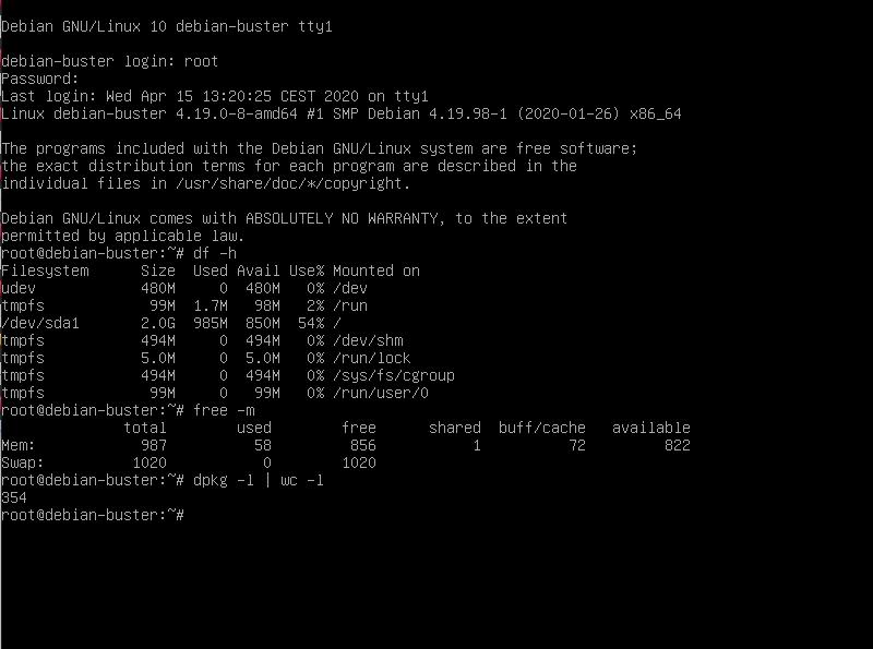 Debian Buster Installation - 34